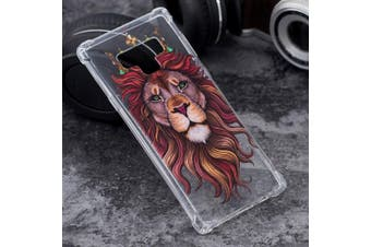 For Samsung Galaxy Note 9 Case,Ultra Thin TPU Back Mobile Phone Cover,Lion King