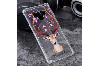 For Samsung Galaxy Note 9 Case,Ultra Thin TPU Back Mobile Phone Cover,Letter Elk