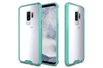 For Samsung Galaxy S9 PLUS Back Case,Shockproof Transparent Armour Cover,Green