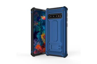 For Samsung Galaxy S10 PLUS Case,Ultra-thin PC+TPU Armour Back Cover,Blue