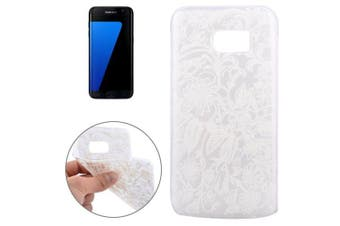 For Samsung Galaxy S7 EDGE Case Modern Flowers High-Quality Shielding Cover