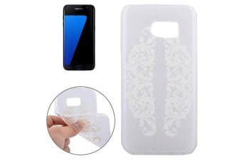 For Samsung Galaxy S7 EDGE Case Modern Side Flowers High-Quality Shielding Cover