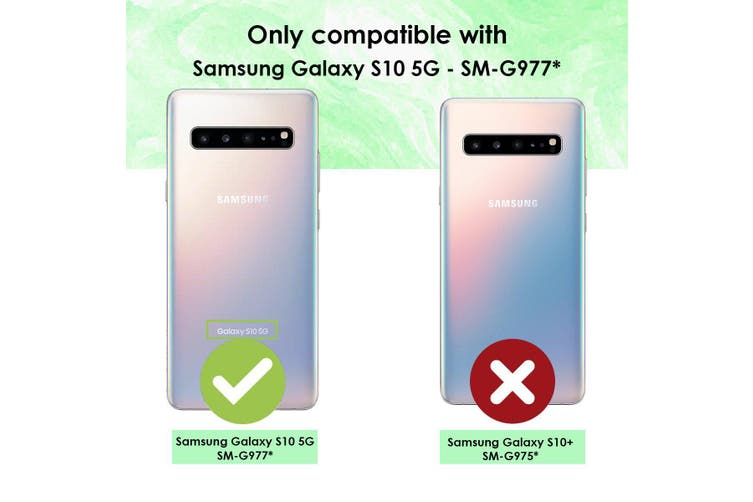 For Samsung Galaxy S10 5G Shielding Case  Urban Brick Art