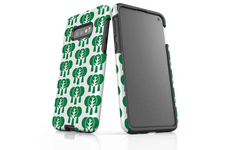 For Samsung Galaxy S10e Protective Case  Green Tree