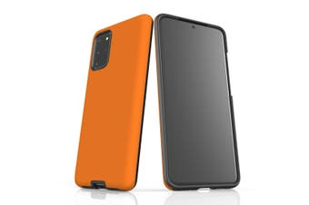 For Samsung Galaxy S20+ Plus Case, Armour Back Cover, Orange