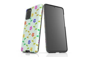 For Samsung Galaxy S20 Plus Protective Case  Flowers Colourful