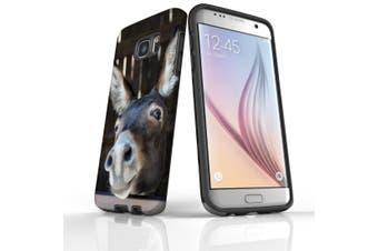 For Samsung Galaxy S7 Edge Case  Armour Tough Cover  Fun Donkey