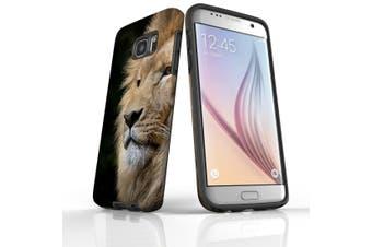 For Samsung Galaxy S7 Edge Case  Armour Tough Cover  Lion