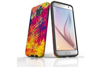 For Samsung Galaxy S7 Edge Case  Armour Tough Cover  Abstract