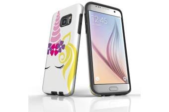 For Samsung Galaxy S7 Edge Case  Armour Tough Cover  Unicorn