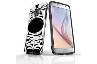 For Samsung Galaxy S7 Edge Case  Armour Tough Cover  Zebra
