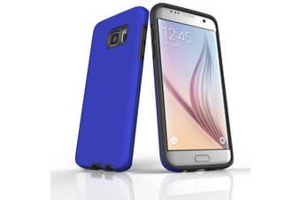 For Samsung Galaxy S7 Edge Case  Armour Tough Protective Cover  Blue