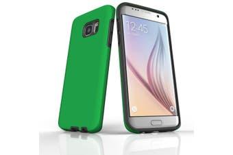 For Samsung Galaxy S7 Edge Case  Armour Tough Protective Cover  Green