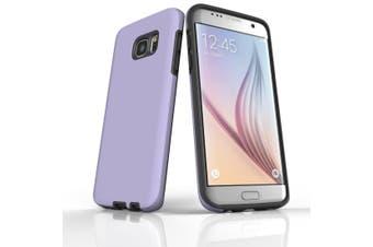 For Samsung Galaxy S7 Edge Case  Armour Tough Protective Cover  Lavender