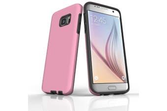 For Samsung Galaxy S7 Edge Case  Armour Tough Protective Cover  Pink