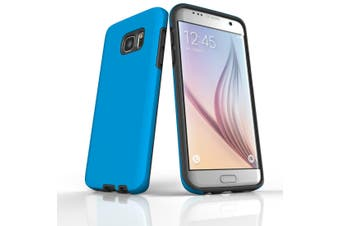 For Samsung Galaxy S7 Edge Case  Armour Tough Protective Cover  Turquoise