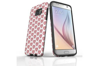 For Samsung Galaxy S7 Edge Protective Case, Red Heart