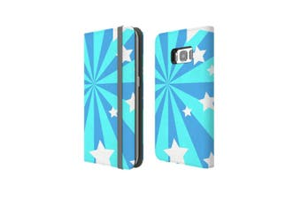 For Samsung Galaxy S8 Case Wallet Protective Cover Star