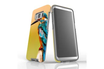 For Samsung Galaxy S8 Case, Armour Tough Cover, Kingfisher