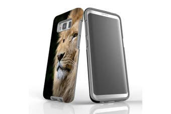 For Samsung Galaxy S8 Case, Armour Tough Cover, Lion