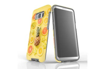 For Samsung Galaxy S8 Case, Armour Tough Cover, Fruits