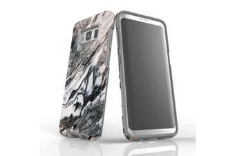 For Samsung Galaxy S8 Case, Armour Tough Cover, Marbled
