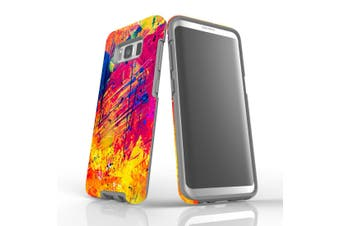 For Samsung Galaxy S8 Case, Armour Tough Cover, Abstract
