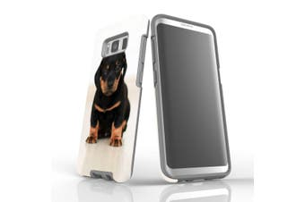 For Samsung Galaxy S8 Case, Armour Tough Cover, Puppy