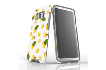 For Samsung Galaxy S8 Case, Armour Tough Cover, Lemons