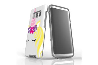 For Samsung Galaxy S8 Case, Armour Tough Cover, Unicorn