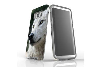For Samsung Galaxy S8 Case, Armour Tough Cover, Wolf