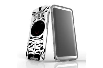 For Samsung Galaxy S8 Case, Armour Tough Cover, Zebra
