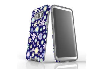 For Samsung Galaxy S8 Case, Protective Back Cover, Flowerful