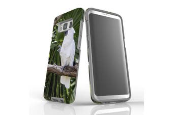 For Samsung Galaxy S8 Case, Protective Back Cover, Cockatoo