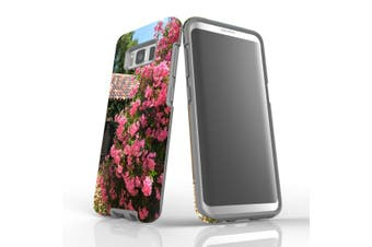 For Samsung Galaxy S8 Case Armour Cover, Blossoming Bush