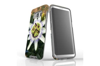 For Samsung Galaxy S8 Case Armour Cover, Blossoming Flower