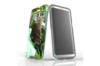 For Samsung Galaxy S8 Case Armour Cover, Butterfly Leaf
