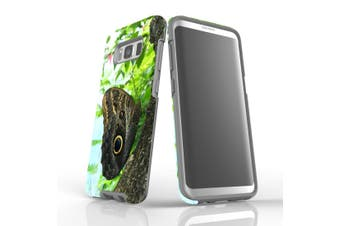 For Samsung Galaxy S8 Case Armour Cover, Butterfly Tree