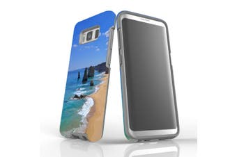 For Samsung Galaxy S8 Case Armour Cover, Famous Rocks