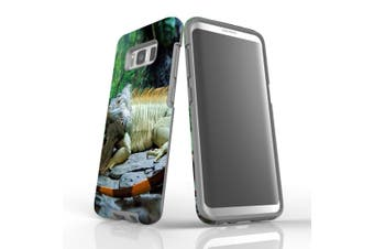 For Samsung Galaxy S8 Case Armour Cover, Big Lizard