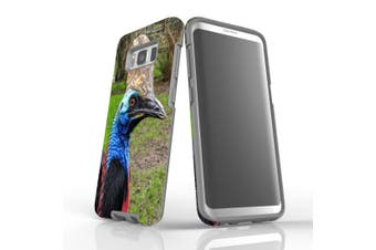 For Samsung Galaxy S8 Case Armour Cover, Cassowary