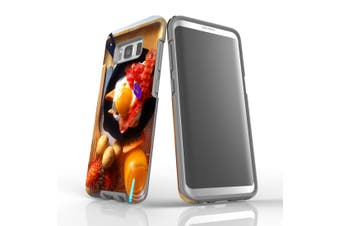 For Samsung Galaxy S8 Case Armour Cover, Delicious Breakfast