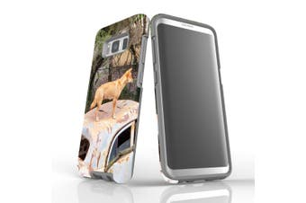 For Samsung Galaxy S8 Case Armour Cover, Dingo