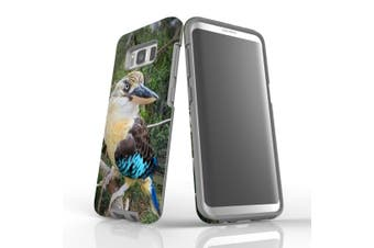 For Samsung Galaxy S8 Case Armour Cover, Curious Kookaburra