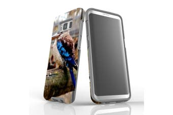For Samsung Galaxy S8 Case Armour Cover, Puffed Kookaburra