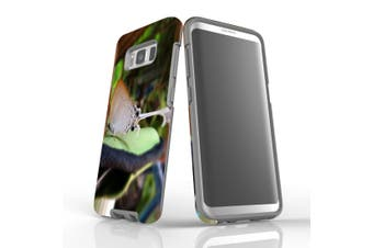 For Samsung Galaxy S8 Case Armour Cover, Relaxed Butterfly
