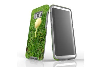 For Samsung Galaxy S8 Case Armour Cover, Lone Mushroom