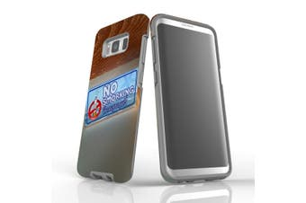 For Samsung Galaxy S8 Case Armour Cover, No Smorking