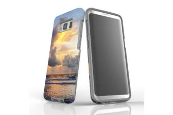 For Samsung Galaxy S8 Case Armour Cover, Beautiful Sunset