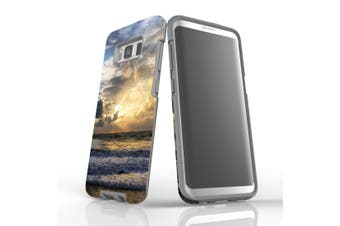 For Samsung Galaxy S8 Case Armour Cover, Romantic Sunset